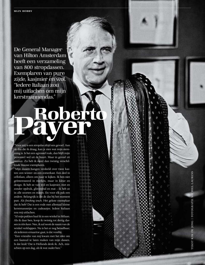 Interview Roberto Payer Hilton Amsterdam